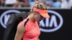 Eugenie Bouchard quittée par son