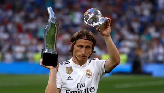 Luka Modric gana el premio 'The