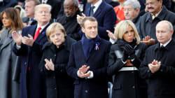 Trump, Macron, Putin e Merkel lembram Armistício da 1ª Guerra