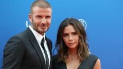 Todos los Beckham posan juntos por primera vez para una