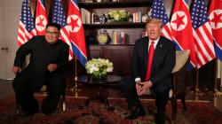 トランプ氏「会談は成功する」、金正恩氏「簡単な道のりではなかった」。米朝首脳会談始まる