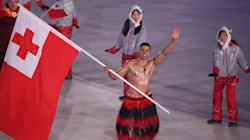 Tongan Flag Bearer Sets Himself Inspirationally Low Bar For Olympic