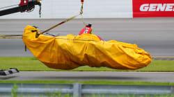 En Pennsylvanie, une course d'Indycar marquée par un terrible
