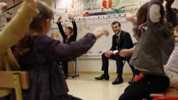 Macron annonce que l'école va devenir obligatoire dès 3 ans au lieu de 6