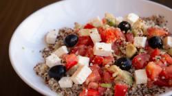 Fácil, rápida y sana: ensalada de quinoa con