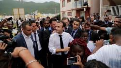 A Saint-Martin, Macron a pris de court son service de sécurité pour rencontrer des sinistrés