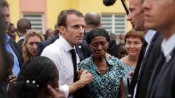 Un an après Irma, Macron dit partager la
