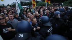 À Chemnitz, néo-nazis et pro-migrants continuent de se faire face dans les