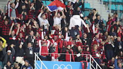 Les athlètes olympiques canadiens s'époumonent sur une chanson de Céline