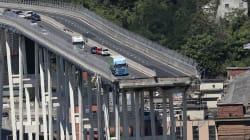 📷 Estado de emergencia tras el colapso del puente Morandi en