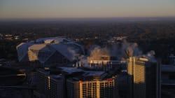 Después de 25 años de uso, el Georgia Dome dice