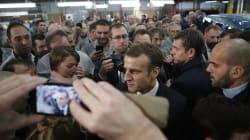 Macron et un syndicaliste s'invectivent à l'usine Renault de