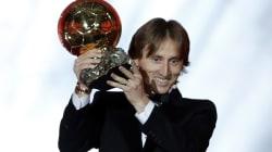 El Balón de oro se lo lleva Luka