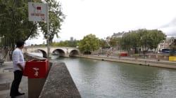 Ces drôles d'urinoirs installés à Paris ne font pas