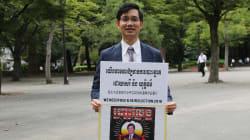 在日カンボジア人が安倍首相・河野外相に請願書を提出「自由で公平なカンボジア総選挙を実現して」