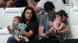 Mila Kunis et Ashton Kutcher n'offriront plus de cadeaux à leurs enfants pour