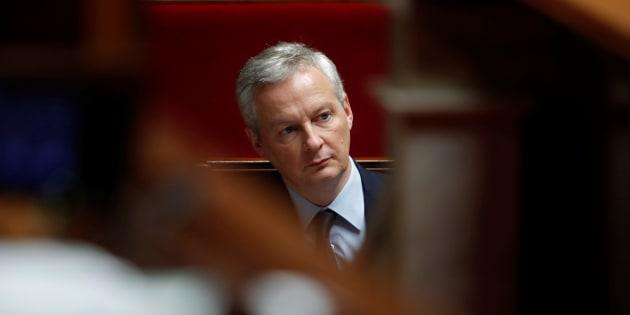 Bruno Le Maire, ici le 11 décembre, annonce qu'un projet de loi pour taxer les Gafa sera présenté dès février en Conseil des ministres.