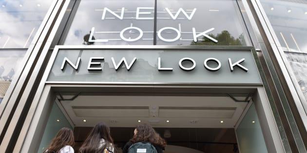 New Look veut fermer les deux tiers de ses magasins en France.