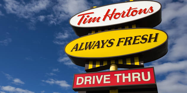 A Tim Hortons location in Kingston, Ont., Thurs. Oct. 12, 2017. Tim Hortons locations across the country have been hit by a computer virus that forced some locations to shut down over the past week.