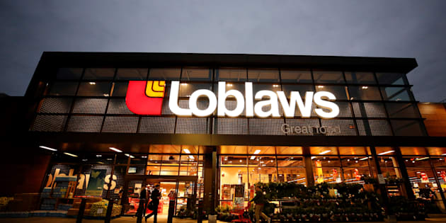 A Loblaw supermarket is pictured in Ottawa, Ont., Nov. 14, 2017. The company has launched a website where customers can register for a $25 gift card, to make amends for an alleged bread price-fixing scheme.