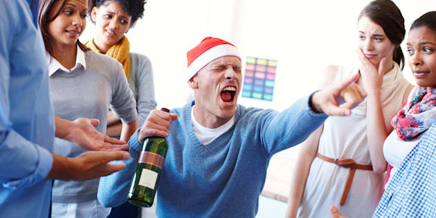"""The problem is, what happens at the Christmas party definitely doesn't stay at the Christmas party."""