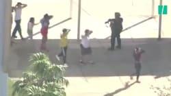 Les images de l'évacuation du lycée après la fusillade en