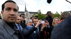 Le collaborateur d'Emmanuel Macron accusé de violences est placé en garde à