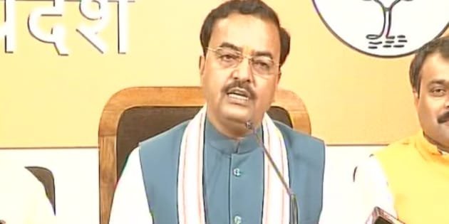 KP Maurya, BJP Uttar Pradesh chief.