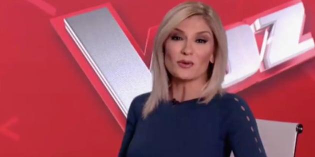 Sandra Golpe en Antena 3 Noticias.