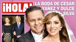 La boda fifí de César Yáñez Centeno y Dulce Silva es portada de ¡HOLA! y los tuiteros no pueden con