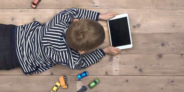 Combien de fois avez-vous regardé votre enfant aujourd'hui?