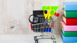 Les parents magasinent tôt pour réduire le stress de la rentrée