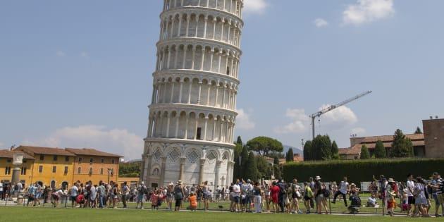 La tour de Pise photographiée le 8 août 2018.