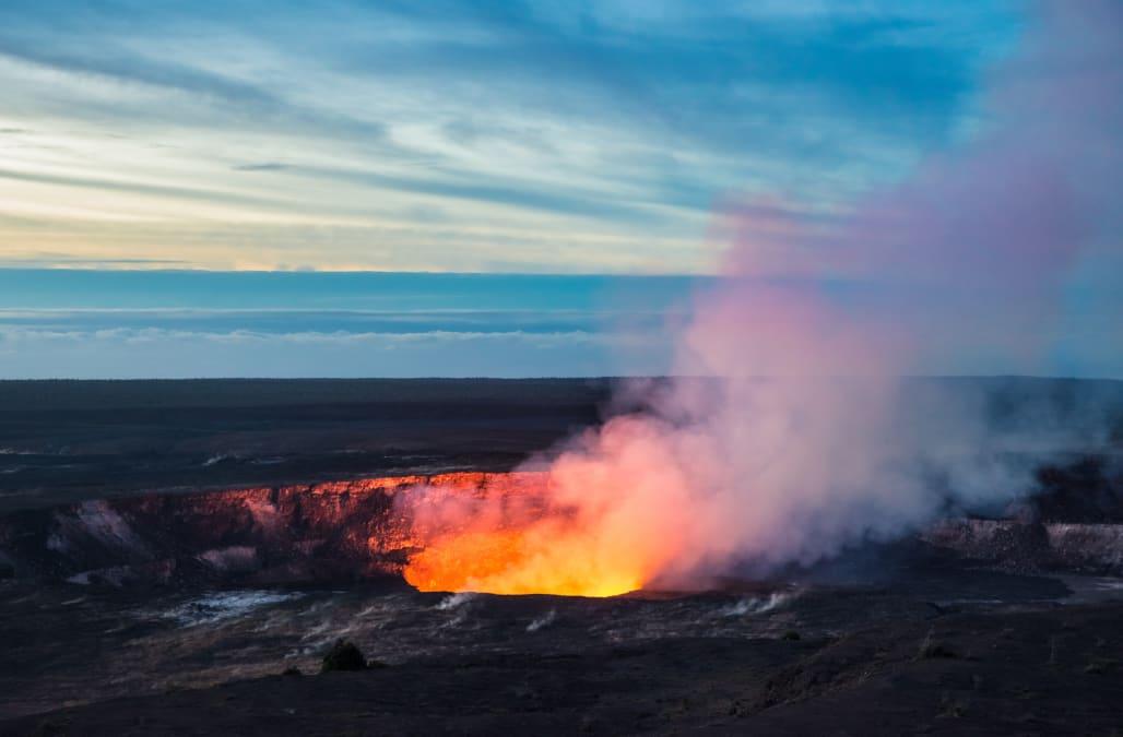 Man plummets off 300-foot cliff into caldera of Hawaii's Kilauea volcano