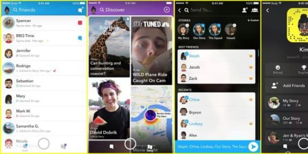 Mécontents de la dernière mise à jour Snapchat, les utilisateurs ont tenu à le faire savoir sur Twitter.