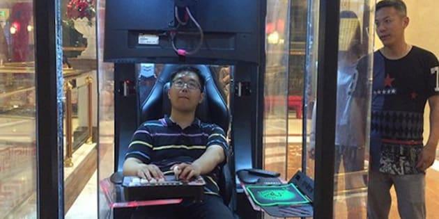"""Après les consignes à bagages, les """"consignes pour maris"""" dans un centre commercial chinois"""