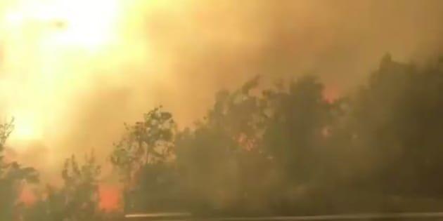 Brucia ancora il centro sud. A Termoli evacuato stabilimento Fiat, roghi in Molise e autostrada chiusa a tratti