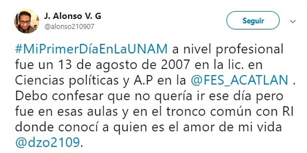 Miles de usuarios han compartido sus mejores recuerdos del primer día que entraron a la UNAM