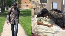A 99 anni percorre a piedi 10 km al giorno per andare a trovare la moglie in