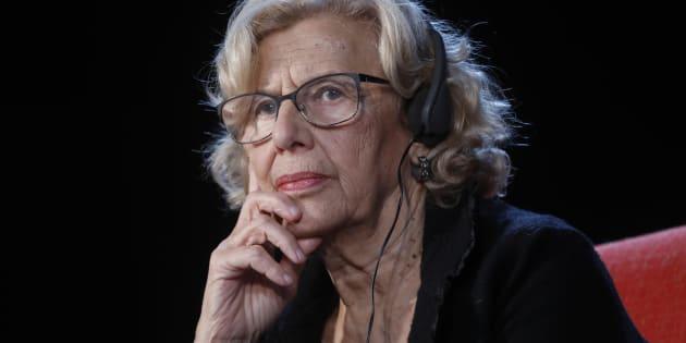 Manuela Carmena, el pasado 12 de noviembre en el Encuentro de Ciudades, Derechos Políticos e Inmigración de Berlín.