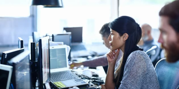 Women in Canadian tech jobs, with a bachelor's degree or higher, earn nearly $20,000 less a year than their male counterparts, a new study says.
