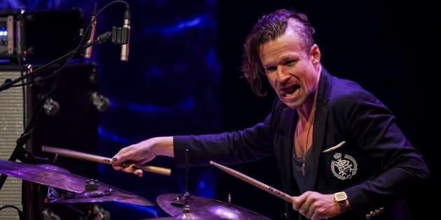 Anton Eger, batteur du groupe Phronesis