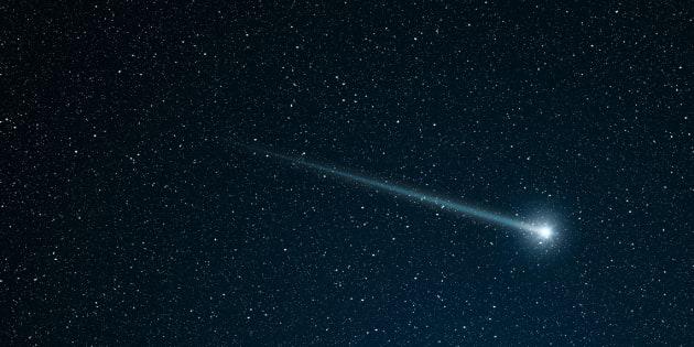 Un météore a illuminé le ciel dans le sud de la France (photo d'illustration