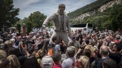 La statue ratée de Johnny Hallyday a un nouveau