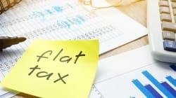 La flat tax? Si torna indietro (letteralmente) di