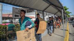 3 mil migrantes centroamericanos entran a México tras ataques en