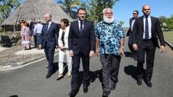 Macron au contact de