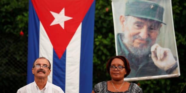 Des cubains participent à un débat public sur la nouvelle constitution du pays à La Havane, le 13 août 2018.
