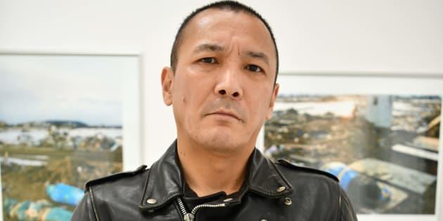 釣崎清隆さん=東京・新宿