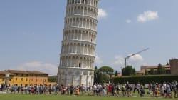 La tour de Pise penche un tout petit moins